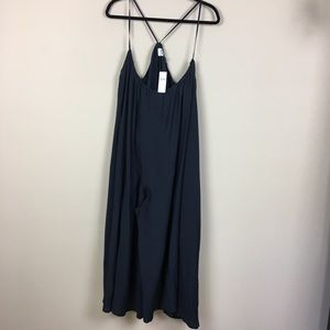Anthro Akemi + Kin Black Loose Fit Jumpsuit